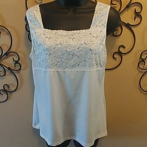 Christopher & Banks Lace Top